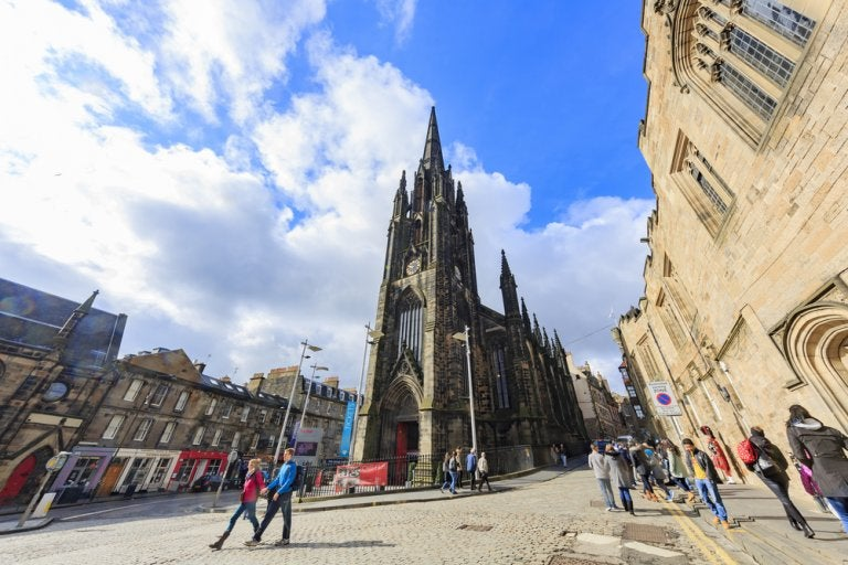 The Hub, uno de los iconos de Edimburgo