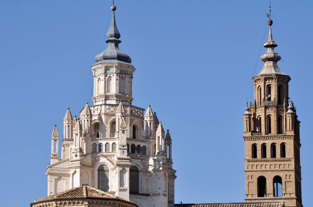 Torre y Cimborrio de la catedral de Tarazona