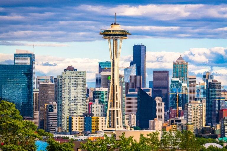 Sube a la torre Space Needle de Seattle, en Estados Unidos