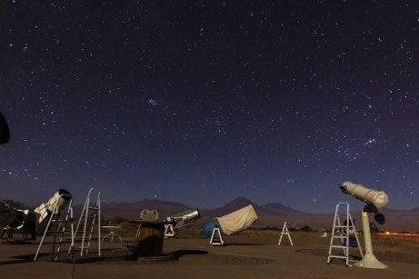 Tour astronómico en Atacama