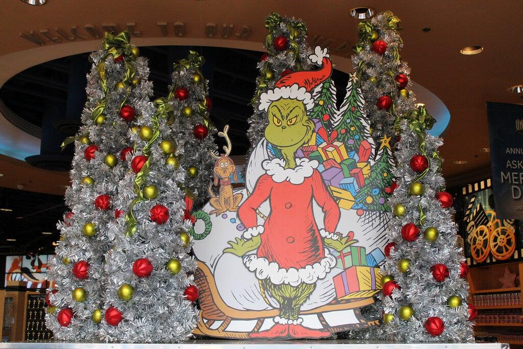 Universal Studios en Navidad