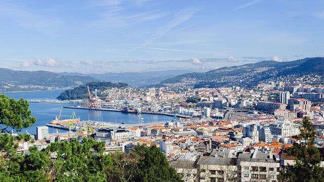 Vista de Vigo