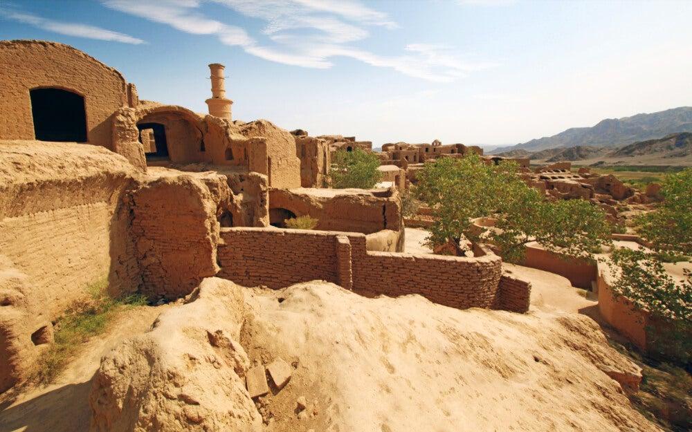 Kharanaq, una bella ciudad fantasma en Irán