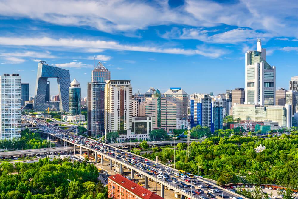 Pekín en China, ejemplo de la geografía humana en Asia Oriental