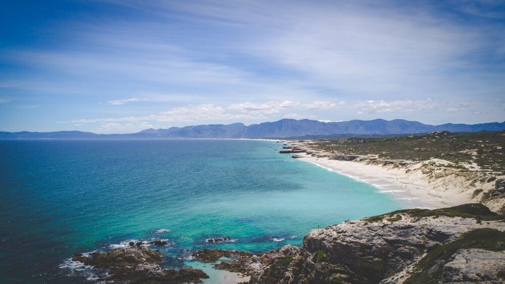 Walker Bay en Sudáfrica