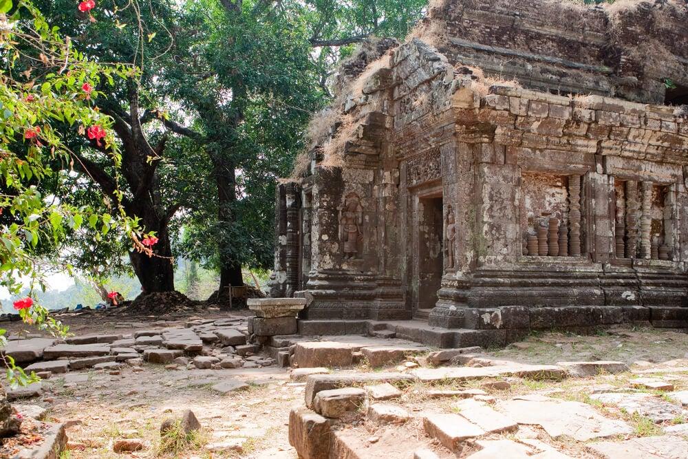 Wat Phu Khmer uno de los templos que ver al viajar a Laos