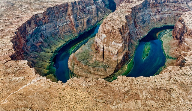 Vista aérea de Horseshoe Bend