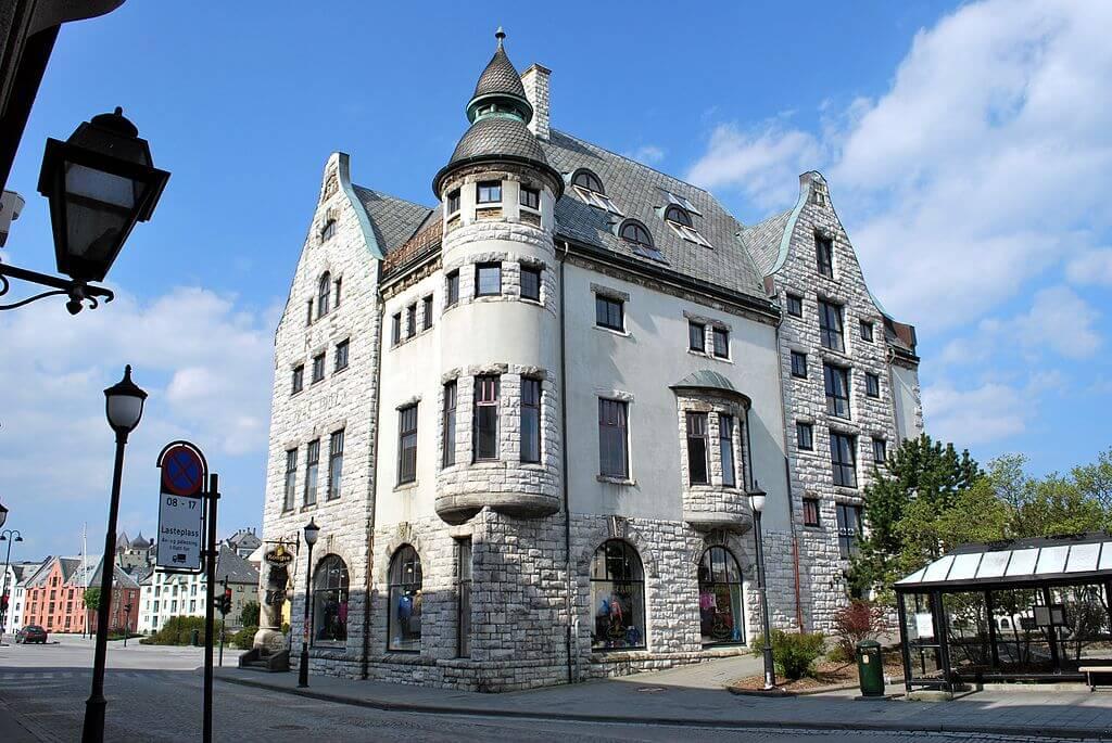 Edificio art nouveau de Alesund