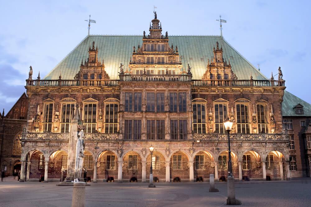 Visitamos el histórico ayuntamiento gótico de Bremen