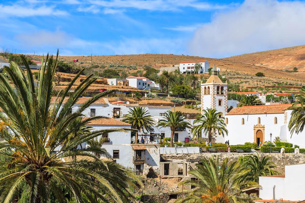 Betancuria en la isla de Fuerteventura en Canarias