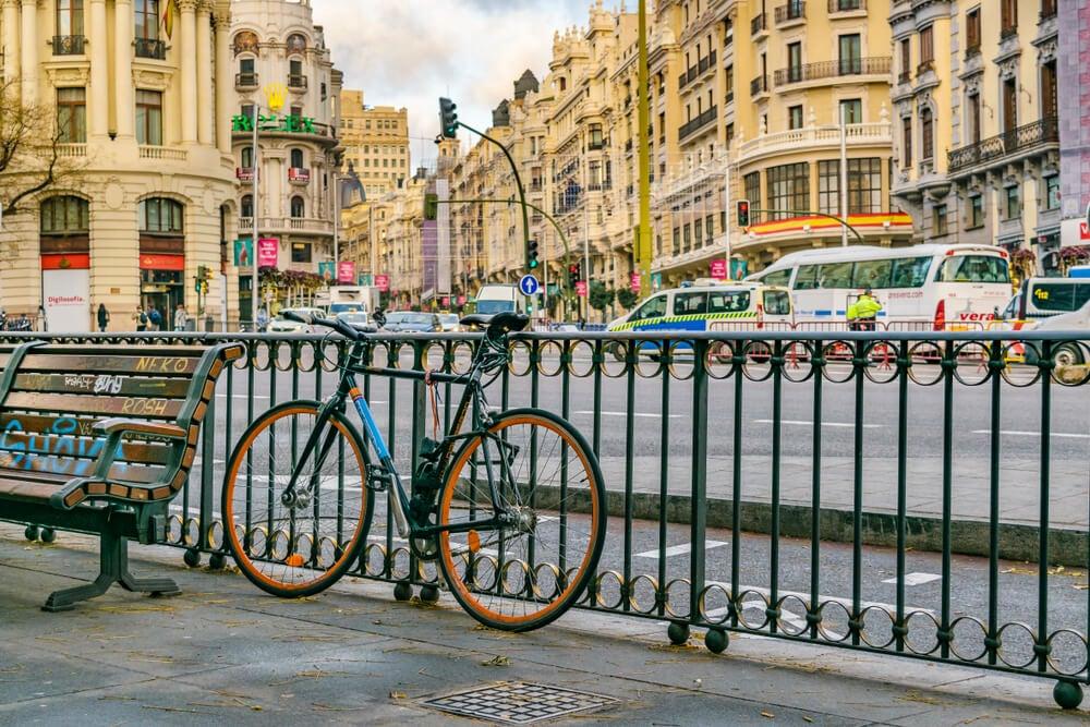 En bici por Madrid: ventajas e inconvenientes