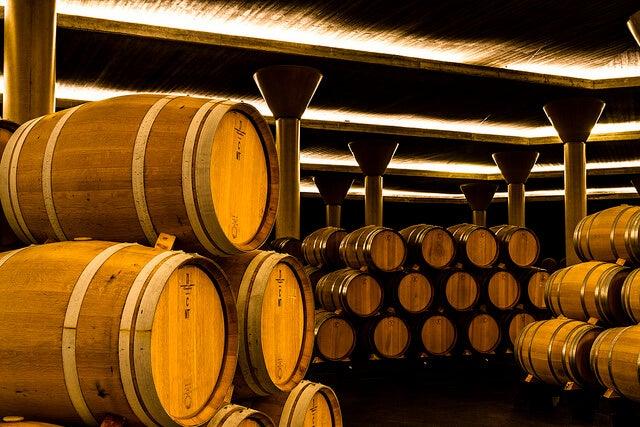 Bodega del Museo de la Cultura del Vino