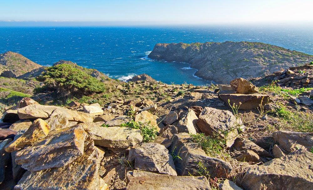 Cabo de Creus en la Costa Brava