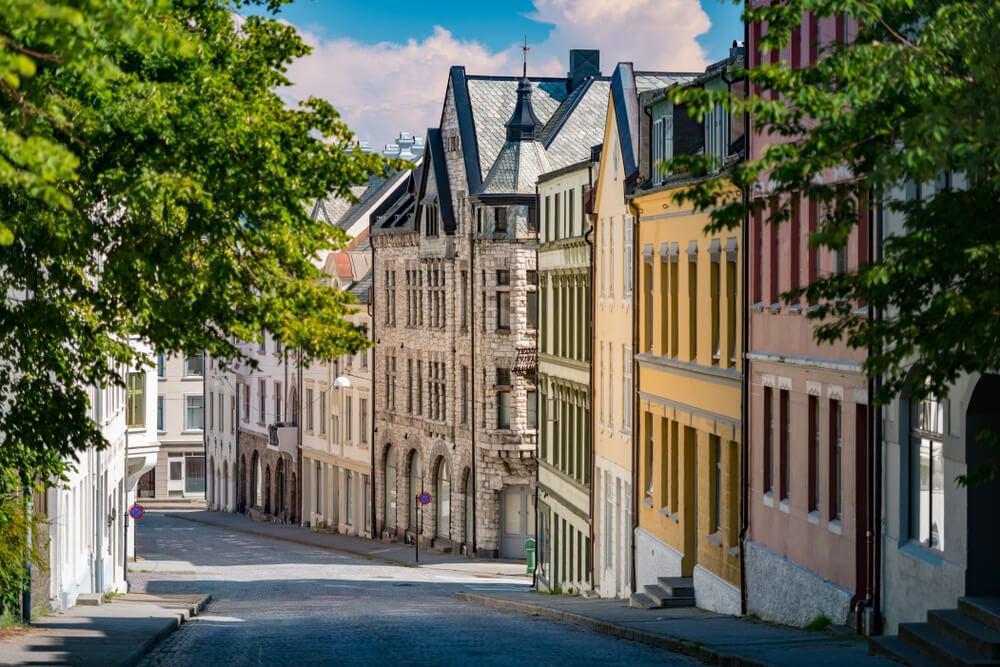 """Alesund y su gran arquitectura """"art nouveau"""""""