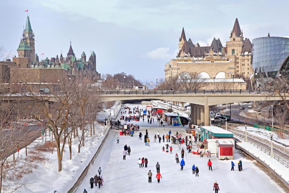 Canal Rideau en Ottawa