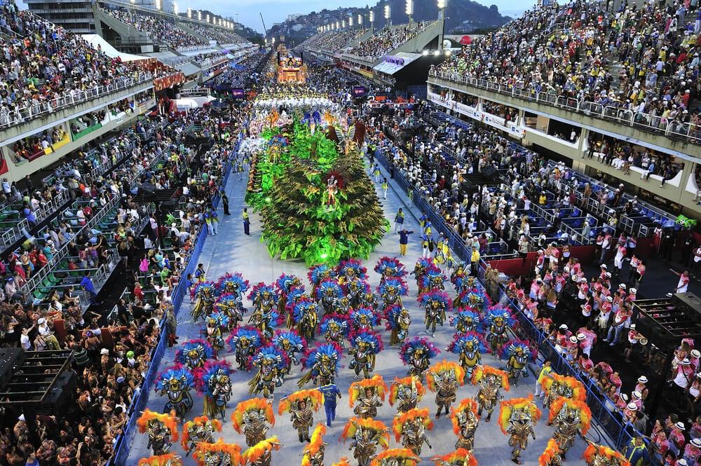 Carnaval de Río de Janeiro en el Sambódromo
