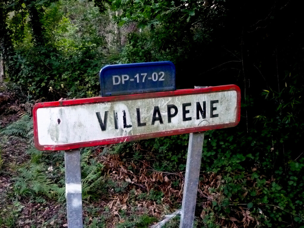 Cartel de Villapene