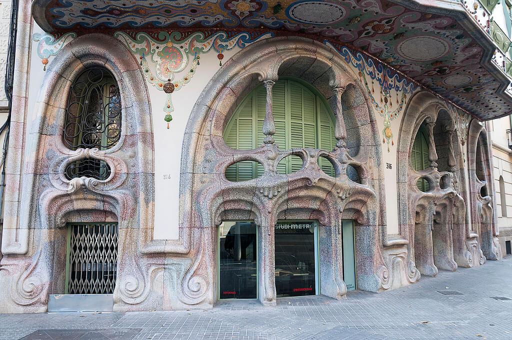 Casa Comalat en Barcelona