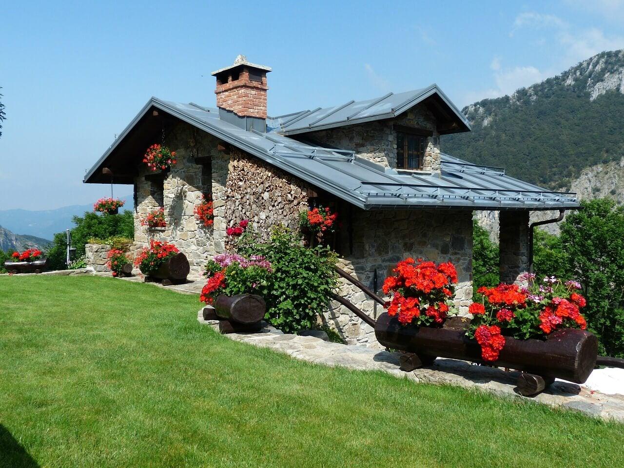 Casa de vacaciones en la montaña