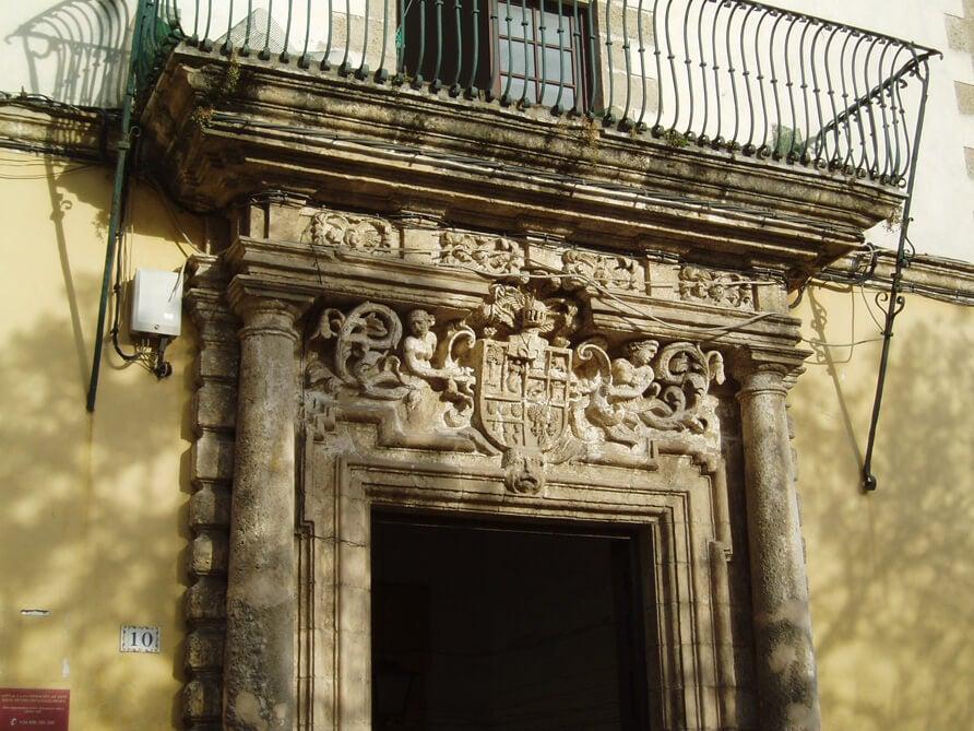 Casa de las Cadenas en El Puerto de Santa María