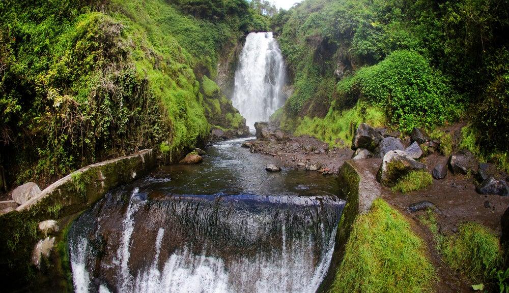Cascada de Peguche en Otavalo