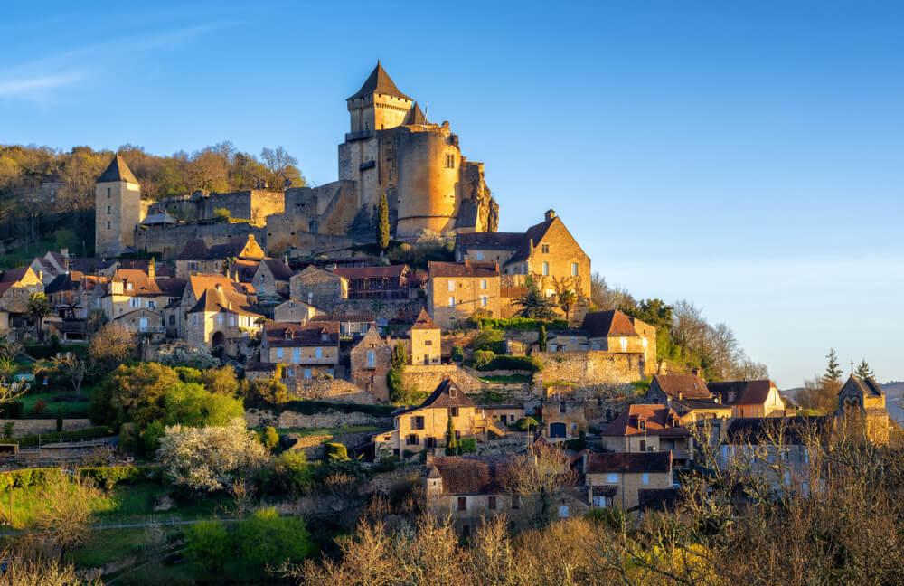 Castelnaud-la-Chapelle en el Périgord al sur de Francia