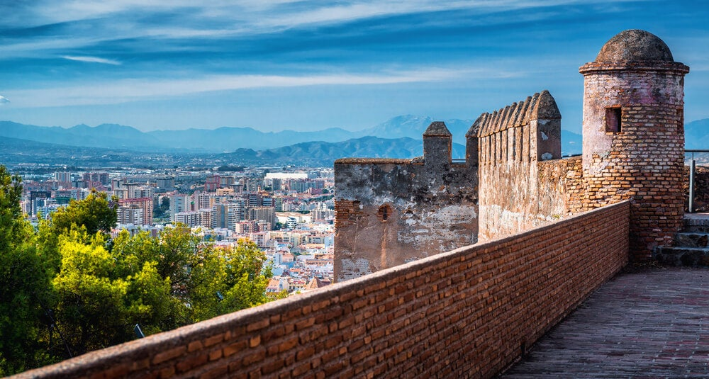 El castillo de Gibralfaro: la mejor panorámica de Málaga