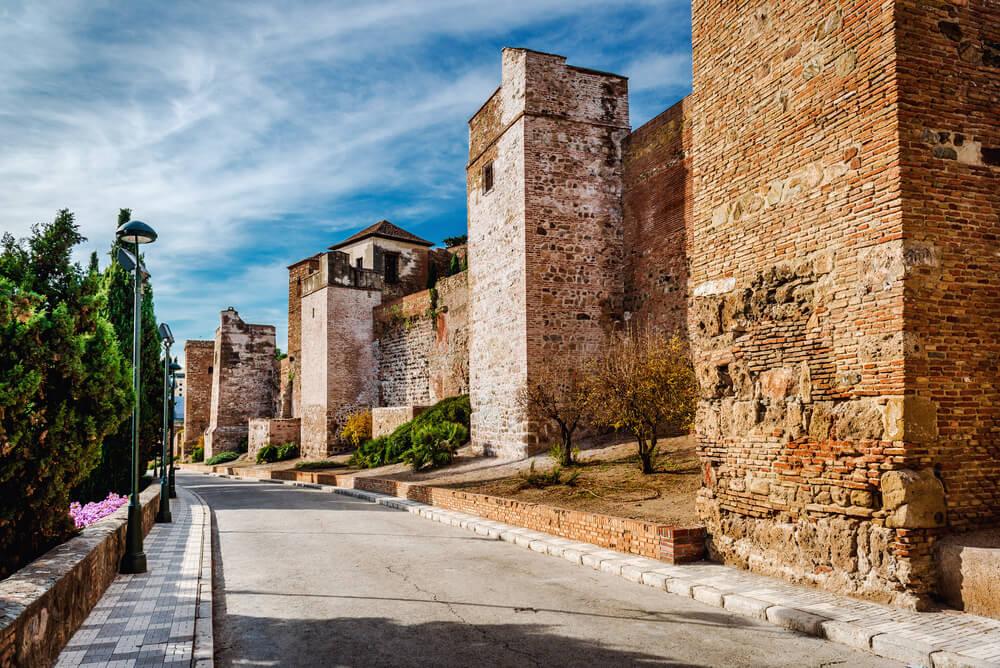Castillo de Gibralfaro en Málaga