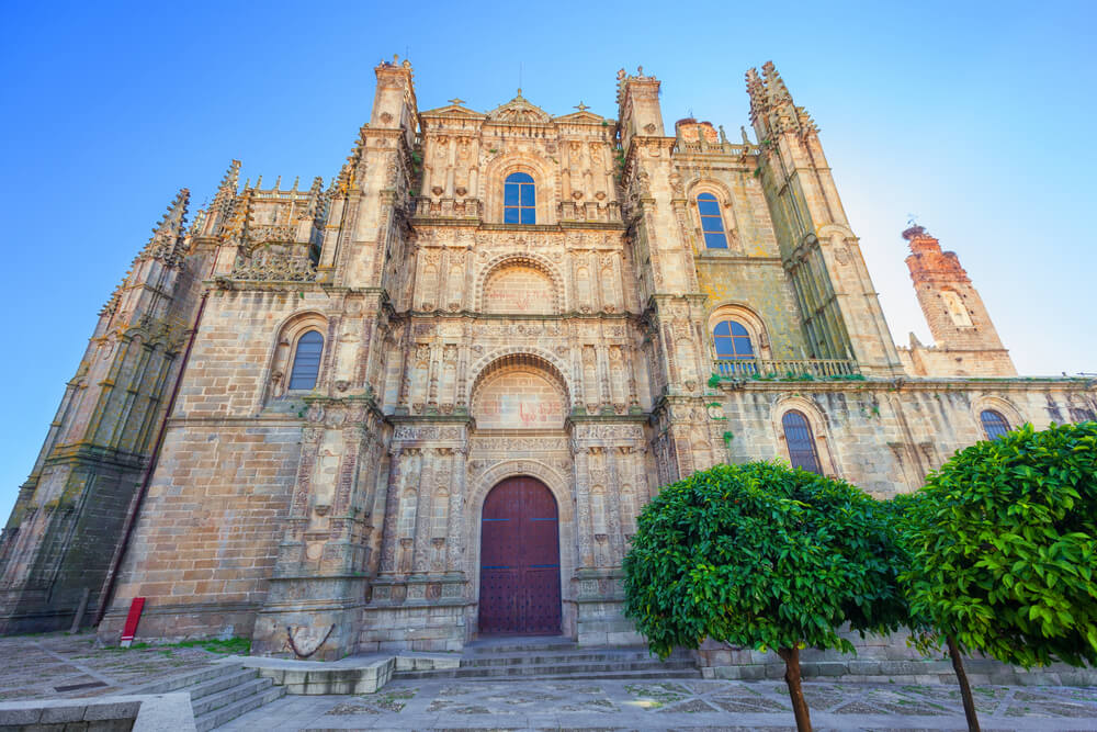 Catedral nueva de la ciudad de Plasencia