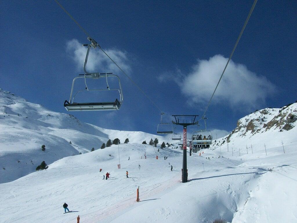 Estación de Cerler en el Pirineo aragonés