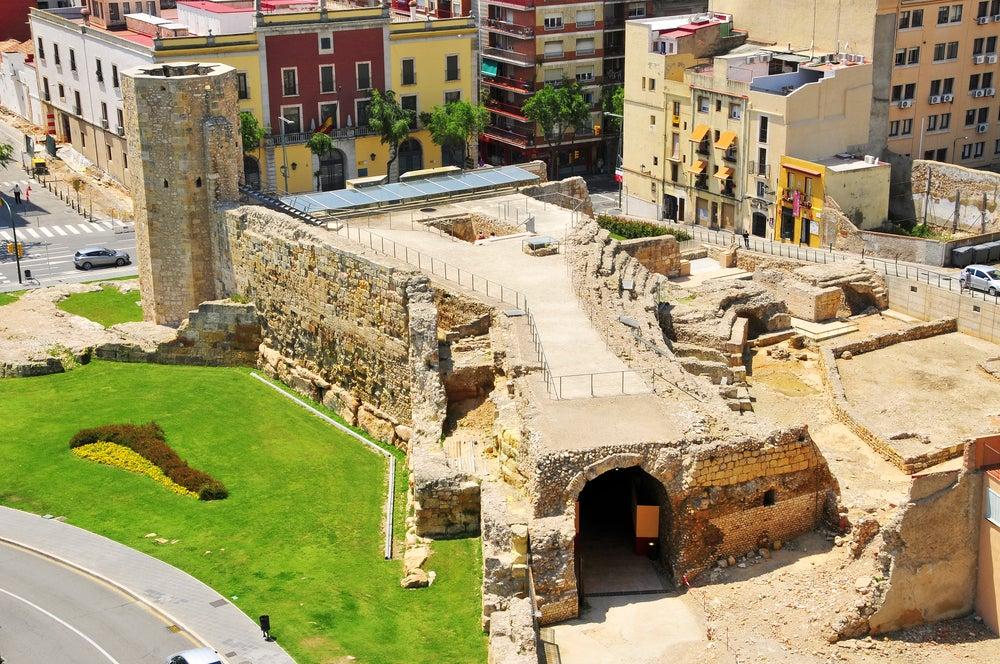 Circo romano de la Tarragona romana en Cataluña