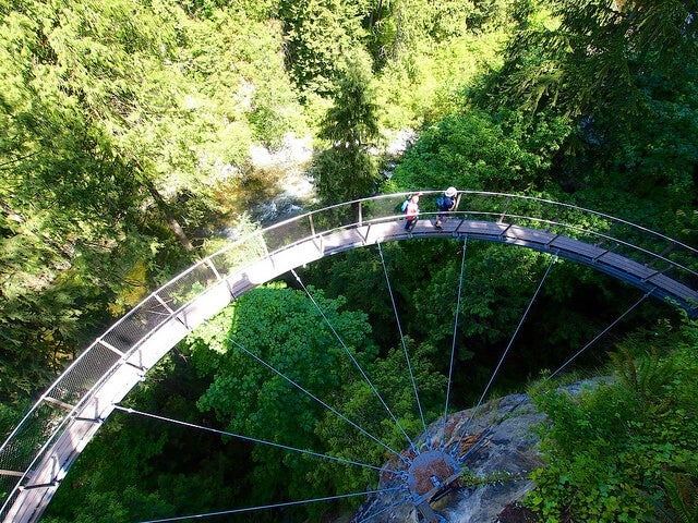 Cliff Walk en Capilano Suspension Bridge Park