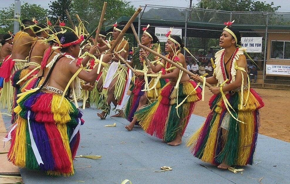 Danza típica en Palikir