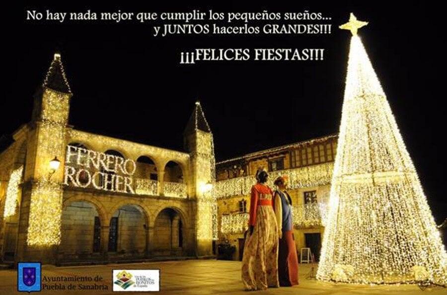 Felicitación de Puebla de Sanabria en Zamora