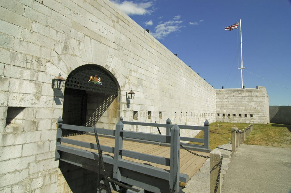Fort Henry en la ciudad de Kingston
