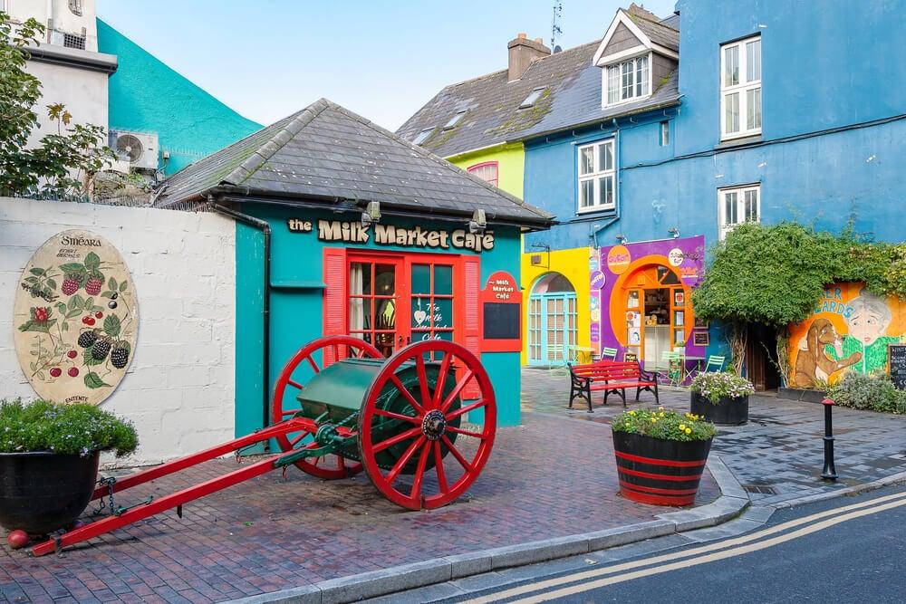 Kinsale, un pueblo lleno de color en Irlanda
