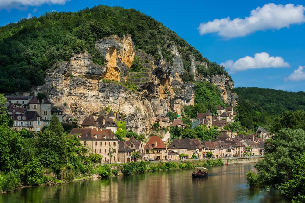 La Roque-Gageac en el Périgord