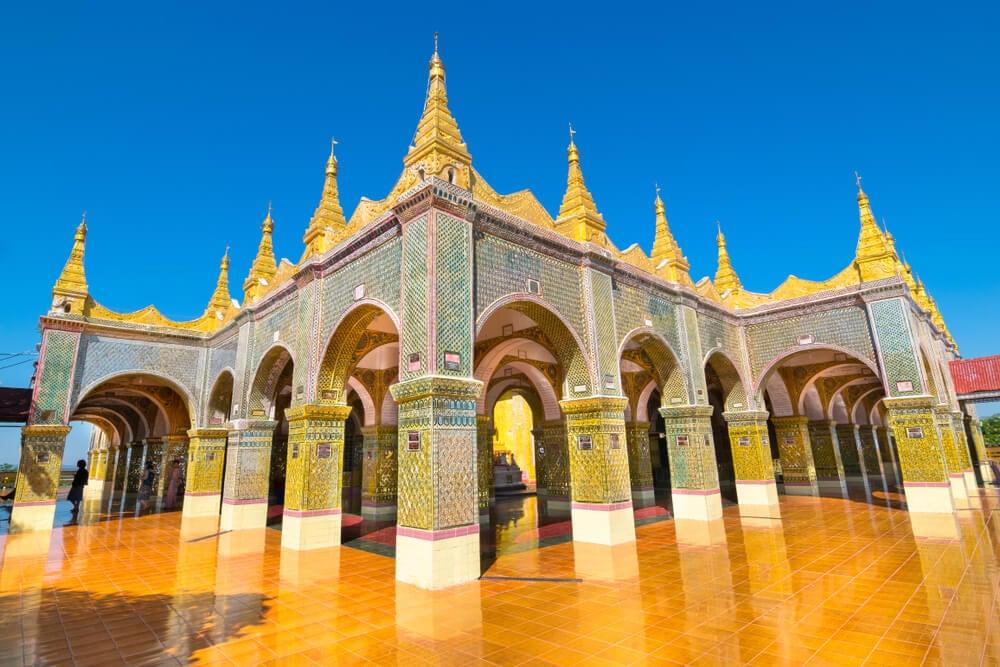 Templo en Mandalay Hill