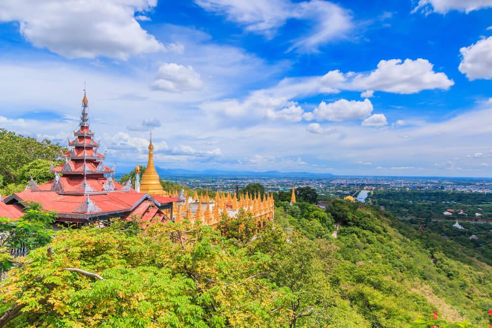 Sagaing Hill en Mandalay
