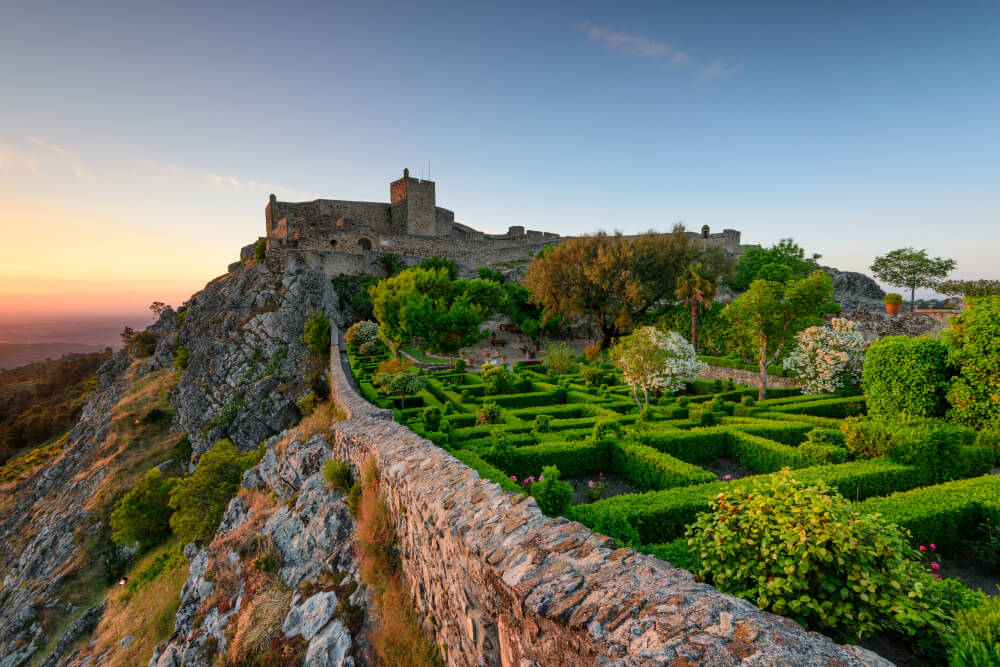 Castillo de Marvao en Portugal