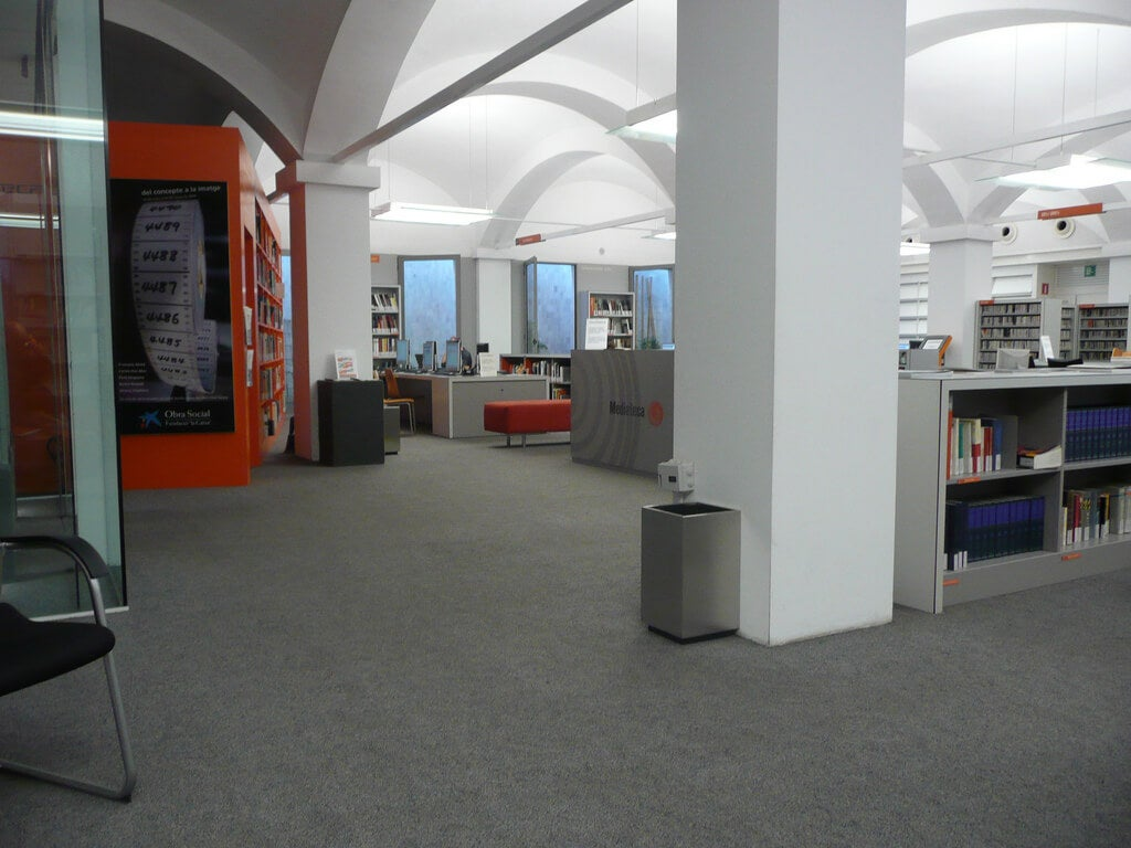 Mediateca de CaixaForum Barcelona