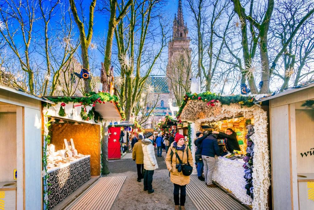 Mercado de Navidad en Basilea