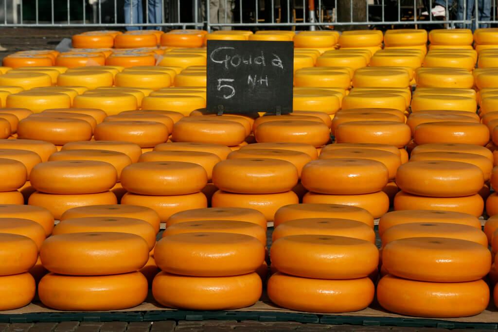 Mercado de quesos en Alkmaar