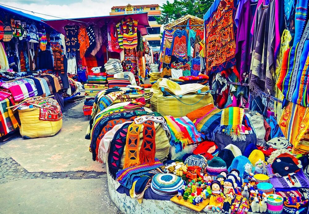 Mercado del Centenario de Otavalo