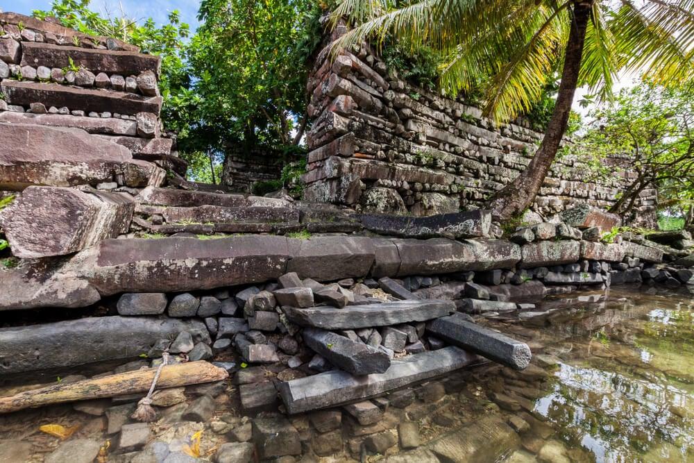 Ruinas de Nan Madol cerca de Palikir