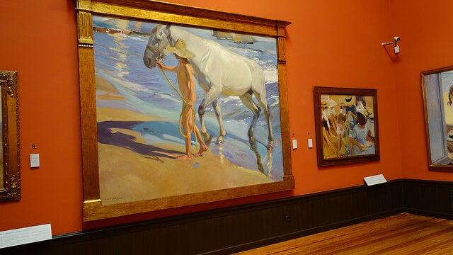 Obras del Museo Sorolla de Madrid