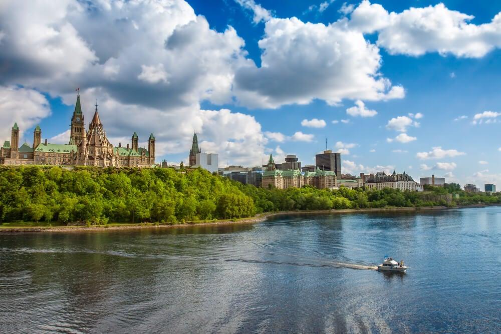 En familia por Ottawa, la capital de Canadá