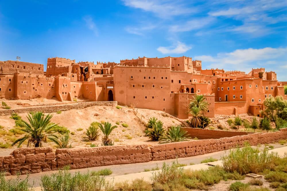 Kasbah en Ouarzazate en Marruecos