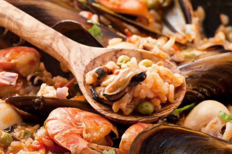 Gastronomía mediterránea en el pueblo de Vinaroz