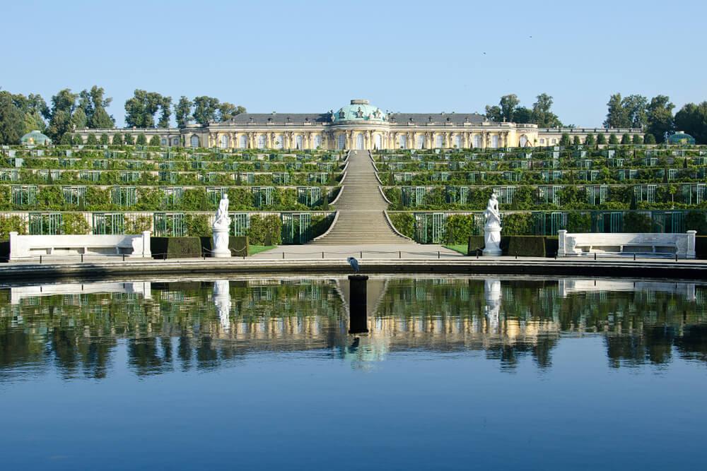 Palacio de Sanssouci en Postdam